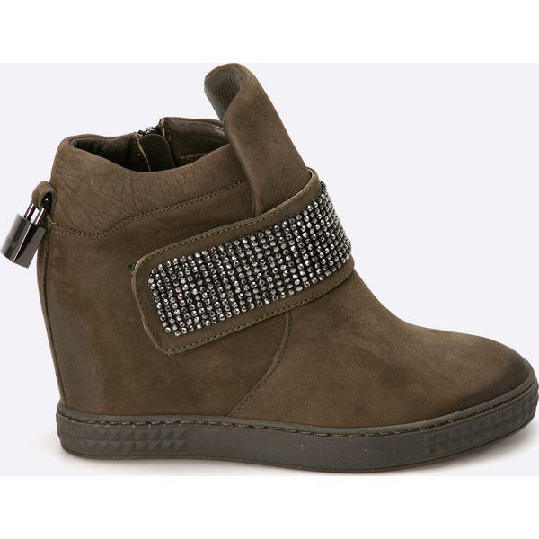 Sneakersy BADURA 8122 69 L 1056 Półbuty damskie czarne w eobuwie.pl