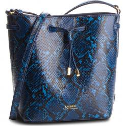 Torebka LAUREN RALPH LAUREN - Dryden 431727962002 Cosmic Blu. Niebieskie torebki do ręki damskie Lauren Ralph Lauren, ze skóry. Za 1,089.00 zł.
