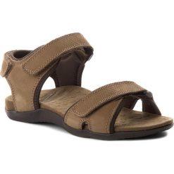 Sandały SCHOLL - Barwon F26202 1019 400 Dk Brown. Brązowe sandały męskie Scholl, z materiału. W wyprzedaży za 239.00 zł.