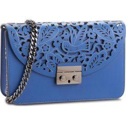 Torebka CREOLE - K10549 Niebieski. Niebieskie torebki do ręki damskie Creole, ze skóry. Za 239.00 zł.