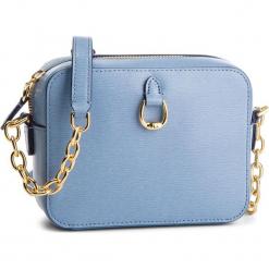 Torebka LAUREN RALPH LAUREN - Bennington 431697815012  Blue. Niebieskie torebki do ręki damskie Lauren Ralph Lauren, ze skóry. Za 779.00 zł.