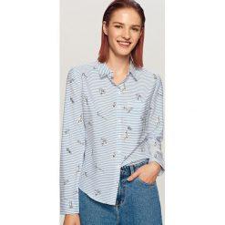 481d78399d Koszula w paski - Niebieski. Koszule damskie marki Bien fashion.
