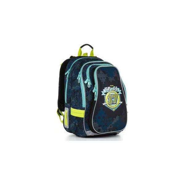 15652623fa283 Plecak szkolny dwukomorowy dla chłopca Topgal CHI 878 - Torby i ...