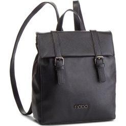 Plecak NOBO - NBAG-F2720-C020 Czarny. Czarne plecaki damskie Nobo, ze skóry ekologicznej, eleganckie. W wyprzedaży za 169.00 zł.
