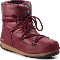 Śniegowce MOON BOOT - Low Nylon Wp 24006200008 Port Royale. Czerwone śniegowce i trapery damskie Moon Boot, z materiału. Za 559.00 zł.