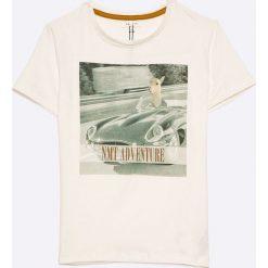 Name it - T-shirt dziecięcy 122-164 cm. T-shirty i topy dla dziewczynek Name it, z nadrukiem, z bawełny, z okrągłym kołnierzem. W wyprzedaży za 24.90 zł.