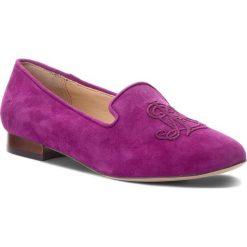 Lordsy LAUREN RALPH LAUREN - Coleena 802718247002 Purple. Fioletowe mokasyny damskie Lauren Ralph Lauren, ze skóry. W wyprzedaży za 369.00 zł.