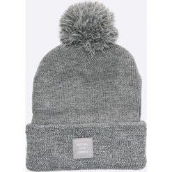Herschel - Czapka Sepp. Szare czapki i kapelusze damskie Herschel, z dzianiny. W wyprzedaży za 89.90 zł.