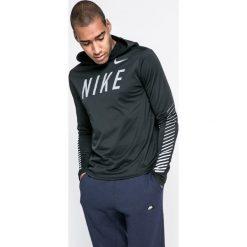 Nike - Bluza. Czarne bluzy męskie Nike, z nadrukiem, z poliesteru. W wyprzedaży za 179.90 zł.