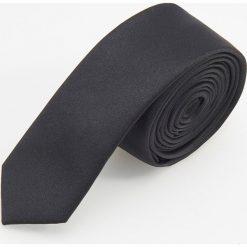 Krawat - Czarny. Czarne krawaty i muchy Reserved. Za 49.99 zł.