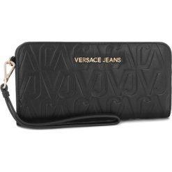 Duży Portfel Damski VERSACE JEANS - E3VSBPH1 70780 899. Czarne portfele damskie Versace Jeans, z jeansu. Za 369.00 zł.