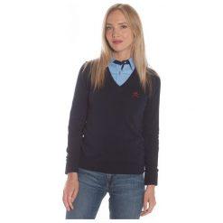Polo Club C.H..A Sweter Damski Xl Ciemnoniebieski. Szare swetry damskie Polo Club C.H..A, dekolt w kształcie v. W wyprzedaży za 239.00 zł.
