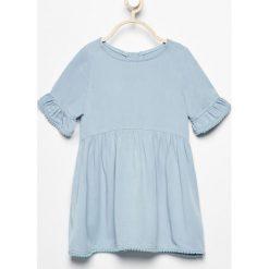 Sukienka - Niebieski. Sukienki niemowlęce Reserved. W wyprzedaży za 39.99 zł.