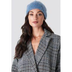 Rut&Circle Czapka Ferdone - Blue. Niebieskie czapki i kapelusze damskie Rut&Circle, z dzianiny. Za 40.95 zł.