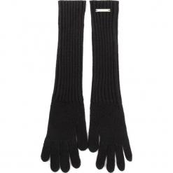 Rękawiczki Damskie TRUSSARDI JEANS - Gloves Rib Knitted 59Z00076 K299. Czarne rękawiczki damskie TRUSSARDI JEANS, z jeansu. Za 149.00 zł.