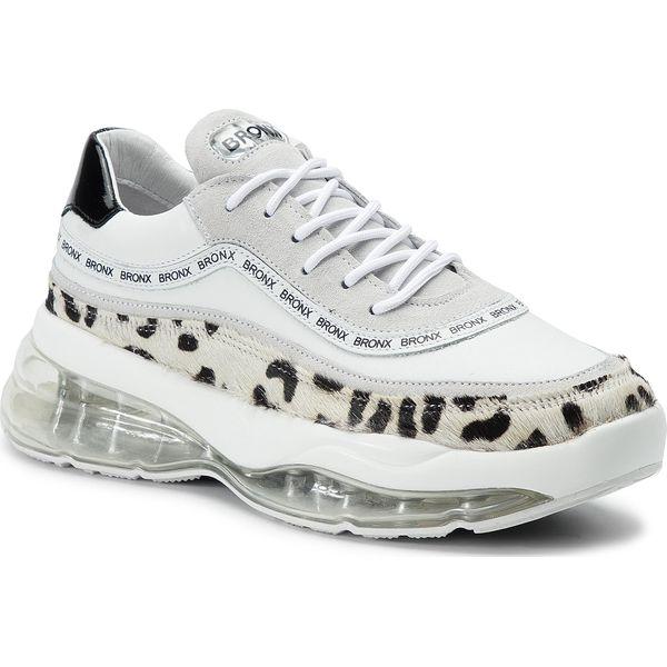 Sneakersy BRONX 66260 GH BX 1562 Off WhiteBlack Półbuty