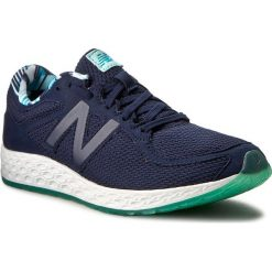 Buty NEW BALANCE - WLZANTDA Granatowy. Niebieskie obuwie sportowe damskie New Balance, z materiału. W wyprzedaży za 329.00 zł.