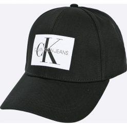 Calvin Klein Jeans - Czapka. Białe czapki i kapelusze męskie Calvin Klein Jeans. W wyprzedaży za 119.90 zł.