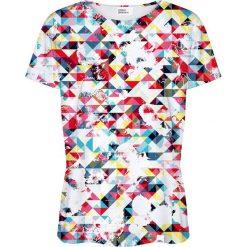 Colour Pleasure Koszulka damska CP-030 16 biało-niebieska r. XXXL/XXXXL. T-shirty damskie Colour Pleasure. Za 70.35 zł.