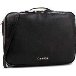 Torba na laptopa CALVIN KLEIN - Frame Laptop Bag K60K604450 001. Czarne torby na laptopa damskie Calvin Klein, ze skóry ekologicznej. Za 649.00 zł.