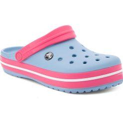 Klapki CROCS - Crocband 11016 Chambray Blue/Paradise Pink. Niebieskie klapki damskie Crocs, z tworzywa sztucznego. W wyprzedaży za 159.00 zł.