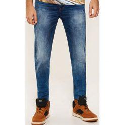 Jeansy slim - Niebieski. Niebieskie jeansy męskie House. Za 139.99 zł.