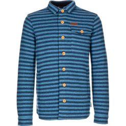 """Kurtka polarowa """"Stewart"""" w kolorze niebieskim. Niebieskie kurtki sportowe męskie Maloja, w paski, z dzianiny. W wyprzedaży za 301.95 zł."""