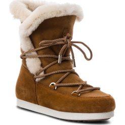 Śniegowce MOON BOOT - Far Side High Shear 24200700002 Whisky. Brązowe śniegowce i trapery damskie Moon Boot, ze skóry. Za 1,249.00 zł.