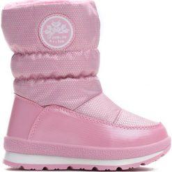 Różowe Śniegowce Get used to. Czerwone buty zimowe dziewczęce Born2be, z materiału. Za 89.99 zł.