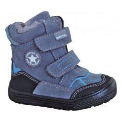 Protetika Buty Zimowe Za Kostkę Chłopięce Tod 19 Szary/Niebieski. Niebieskie buty zimowe chłopięce Protetika, ze skóry. Za 185.00 zł.