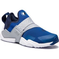 Buty NIKE - Huarache Extreme (GS) AQ0575 401 Gym Blue/Obsidian Wolf Grey. Niebieskie obuwie sportowe damskie Nike, z materiału. W wyprzedaży za 299.00 zł.