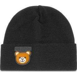 Czapka MOSCHINO - 65110 M1852 016. Czarne czapki i kapelusze damskie MOSCHINO, z materiału. Za 559.00 zł.