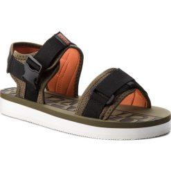 Sandały NAPAPIJRI - Lido 16807611 Army Green N79. Czarne sandały męskie Napapijri, z materiału. W wyprzedaży za 199.00 zł.