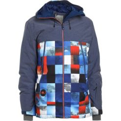 Quiksilver SIERRA  Kurtka snowboardowa blue/red/icey. Kurtki snowboardowe męskie Quiksilver, z materiału. W wyprzedaży za 755.10 zł.