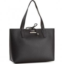 Torebka GUESS - Bobbi (Vg) HWVG64 22150 BSE. Czarne torebki do ręki damskie Guess, z aplikacjami, ze skóry ekologicznej. W wyprzedaży za 339.00 zł.