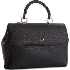 Torebka LIU JO - M Top Handle Manhat A68096 E0011 Nero 22222. Czarne torebki do ręki damskie Liu Jo, ze skóry ekologicznej. Za 689.00 zł.