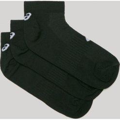 Asics Tiger - Skarpetki (3-pack). Czarne skarpety damskie Asics, z bawełny. W wyprzedaży za 29.90 zł.