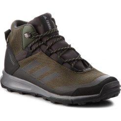 Buty adidas - Terrex Tivid Mid Cp AC8042 Ngtcar/Cblack/Grefou. Zielone trekkingi męskie Adidas, z materiału. W wyprzedaży za 409.00 zł.