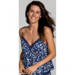 Dorina - Top piżamowy. Różowe piżamy damskie Dorina, z dzianiny. W wyprzedaży za 59.90 zł.