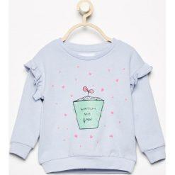 Bluza z falbankami - Niebieski. Bluzy dla dziewczynek marki Pollena Savona. Za 29.99 zł.