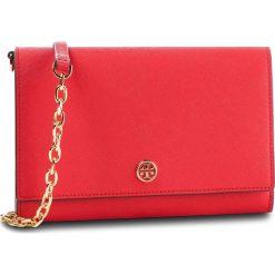 Torebka TORY BURCH -  Robinson Chain Wallet 52708 Brilliant Red 612. Czerwone torebki do ręki damskie Tory Burch, ze skóry. Za 1,249.00 zł.