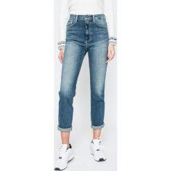 Pepe Jeans - Jeansy Betty. Niebieskie jeansy damskie Pepe Jeans. W wyprzedaży za 269.90 zł.