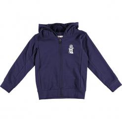 """Bluza """"Sebastian 714"""" w kolorze granatowym. Niebieskie bluzy dla chłopców marki Lego Wear Fashion, z nadrukiem. W wyprzedaży za 92.95 zł."""