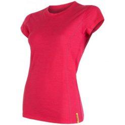 Sensor Koszulka Termoaktywna Merino Wool Active W Magenta Xl. Czerwone koszulki sportowe damskie Sensor, z materiału, z krótkim rękawem. Za 195.00 zł.