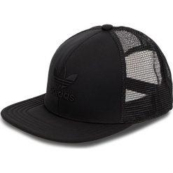 Czapka z daszkiem adidas - Tref Herit Tru D98935 Black/Black. Czarne czapki i kapelusze damskie Adidas. W wyprzedaży za 119.00 zł.