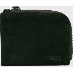 Vans - Portfel skórzany. Czarne portfele męskie Vans. Za 149.90 zł.