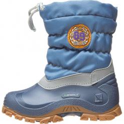 """Botki zimowe """"Eric"""" w błękitnym. Niebieskie buty zimowe chłopięce Spirale, z materiału. W wyprzedaży za 69.95 zł."""