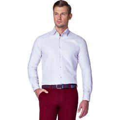 Koszula Biała w Kropki Coco. Białe koszule męskie LANCERTO, w kropki, z bawełny. W wyprzedaży za 199.90 zł.
