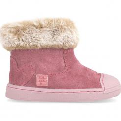 Skórzane botki w kolorze różowym. Botki dziewczęce marki Born2be. W wyprzedaży za 172.95 zł.