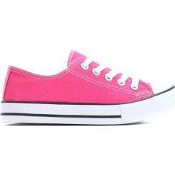 Fuksjowe Trampki I Feel It. Różowe buty sportowe dziewczęce Born2be, z materiału. Za 29.99 zł.